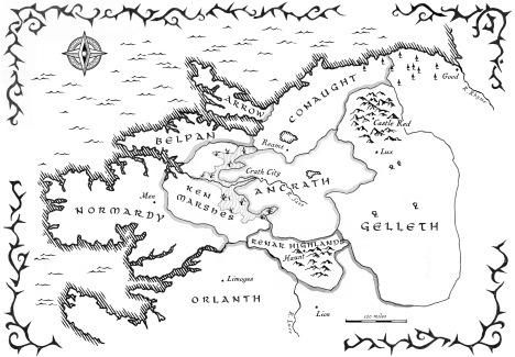 Map of The Broken Empire