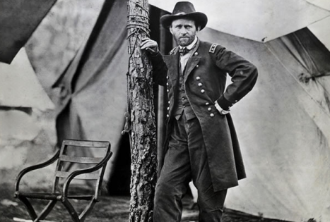 Grant in Cold Harbor, Virginia (Photo Credit: National Archives)