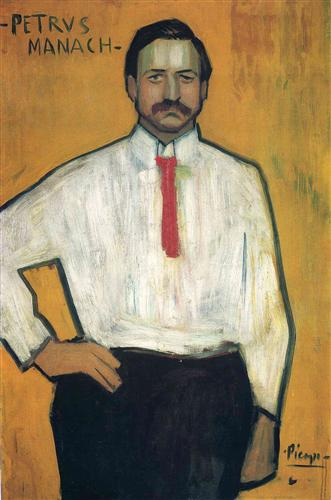 My favorite picture by Picasso:  it is not complex or intricate, but you *know* this guy from looking at his portrait
