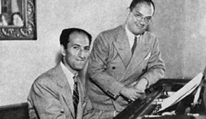 George and Ira Gershwin, making music for the ages