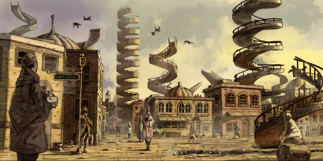 City of Bulikov by John Petersen on the author's website