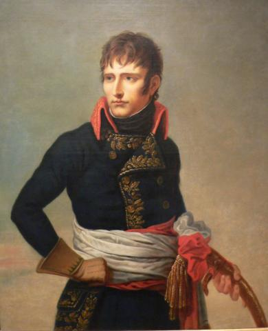 Painting of Napoleon Bonaparte, 1798 when he was First Counsel of France by Andrea Appiani (1754-1817).