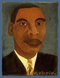 Self-Portrait by Horace Pippin, 1944