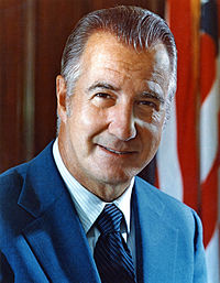 Spiro Agnew, 39th Vice President of the United States