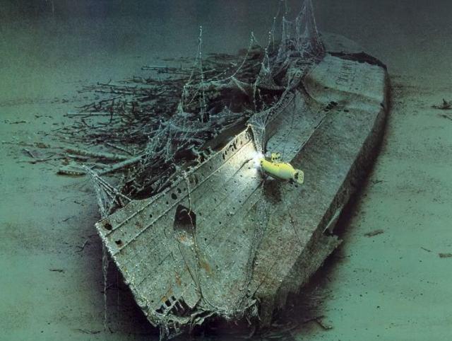 Lusitania Wreckage