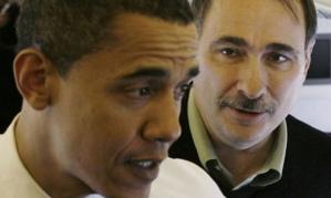 President Obama with David Axelrod