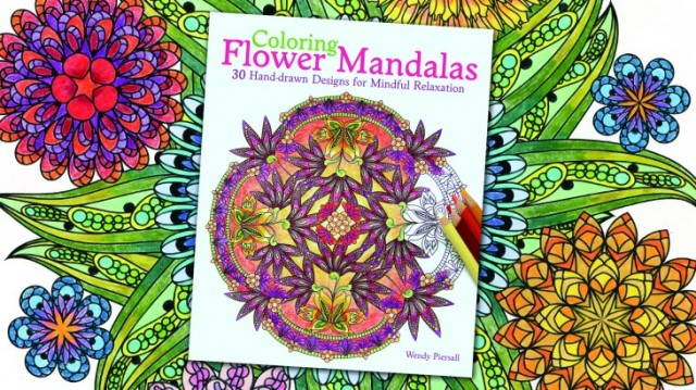 Review Of Coloring Flower Mandalas By Wendy Piersall