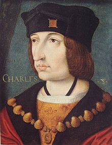 Charles VIII of France, by the Ecole Francaise