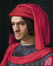 Portrait of Lorenzo de' Medici by Agnolo Bronzino