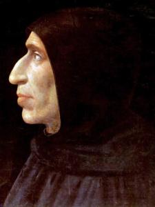 Portrait of Savonarola by his friend Fra Bartolomeo