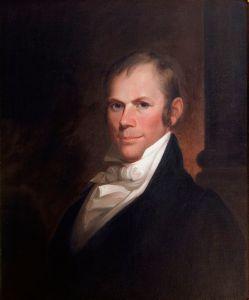 Portrait by Matthew Harris Jouett, 1818