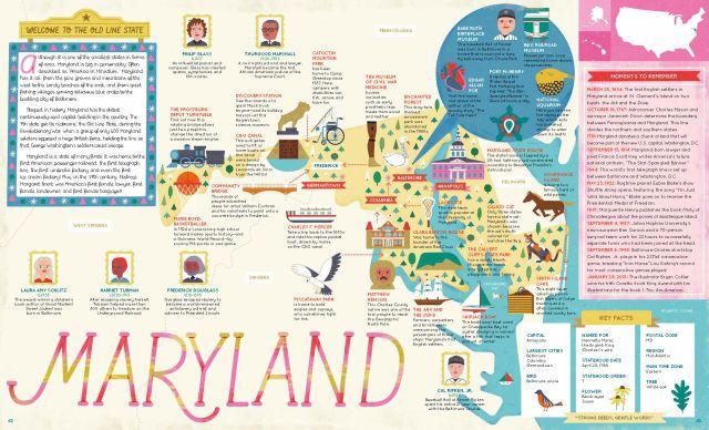 50 States_Maryland