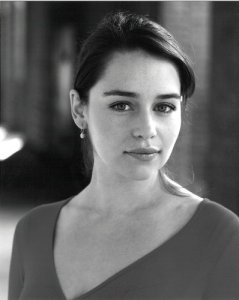 Emilia Clarke plays Louisa Clark in the movie version of Me Before You.