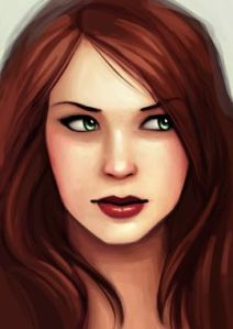 Scarlet as depicted on The Lunar Chronicles wikia site http://lunarchronicles.wikia.com/wiki/Scarlet_(character)