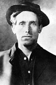 Joe Hill, born in Sweden in 1879 as Joel Emmanuel Hägglund