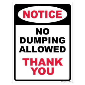 no-dumping-allowed-thank-you-stock-corrugated-plastic-sign-18x24