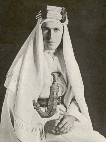 T. E. Lawrence in 1919