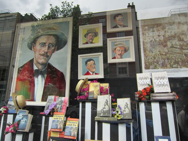 Bookstore in Dublin, Ireland around the time of Bloomsday