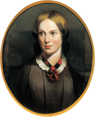 John Hunter Thompson, Charlotte Brontë, ca. 1855, oil on canvas. © The Brontë Society