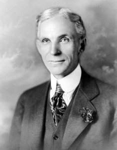 Portrait of Henry Ford (1919) from the Library of Congress