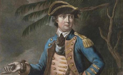 Benedict Arnold in 1776.  Brown University/Wikimedia Commons