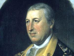 Major General Horatio Gates.  Photograph Courtesy of the National Park Service