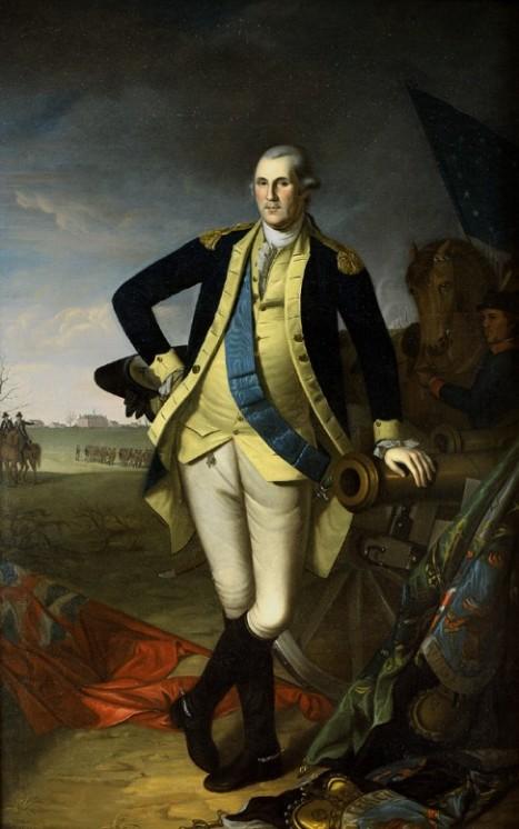 George Washington at Princeton by Charles Willson Peale (US Senate)