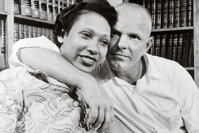 Mildred and Richard Loving in 1967