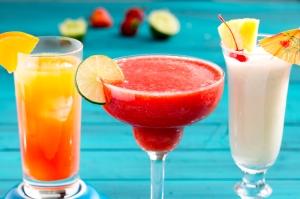 Miscellaneous rum cocktails