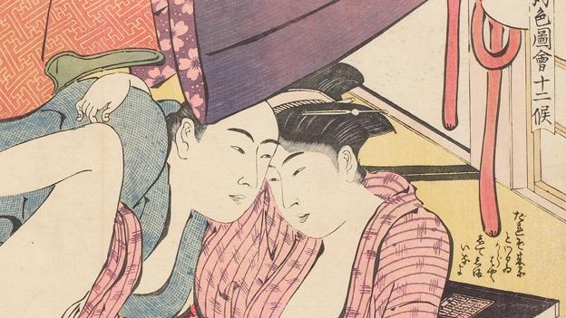 "From ""Shunga: sex and pleasure in Japanese art"" - a 2013 British Museum Exhibit"