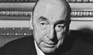 Pablo Neruda in Paris, 1971, after being awarded the Nobel prize for literature.