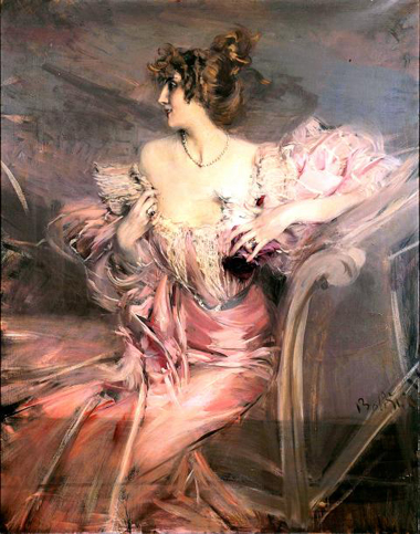 The beautiful portrait of Marthe de Florian by Boldini discovered in 2010