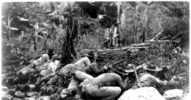 As one action of many during the Banana Wars, the Marine Corps was called to Haiti July 28, 1915, to occupy and stabilize the nation in an effort to protect American interests throughout the Caribbean, as well as Central and South America.