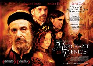 The Merchant of Venice starring Al Pacino as Shylock
