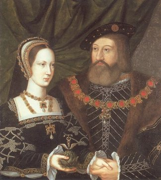 The real Charles Brandon at the time of his marriage to Princess Mary Tudor - give me the BBC Brandon any time!