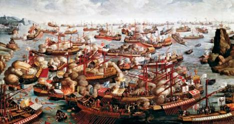 Battle of Lepanto, October 1571, unknown artist