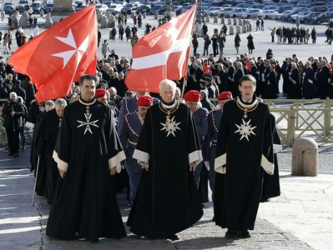 The Knights of Malta marked its 900th birthday in February 2013 in St. Peter's Square, and with an audience with Pope Benedict XVI, himself a member of the onetime chivalrous order drawn from Europe's nobility.