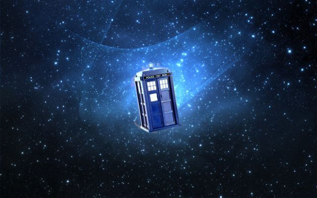 "The time machine in ""Dr. Who"" is called the TARDIS, which stands for Time and Relative Dimensions in Space. Credit: BBCAmerica"