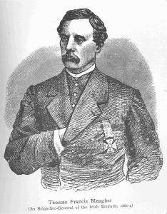 Thomas Francis Meagher, Brigadier General of the Irish Brigade