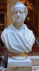 Bust of Lord Palmerston in the Reform Club