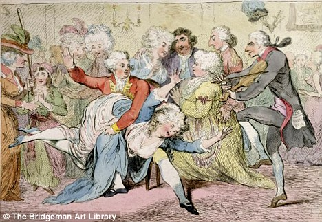 The Royal Joke, or Black Jacks Delight, by James Gillray (1757-1815)