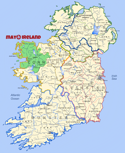 mayo ireland map | Rhapsody in Books Weblog