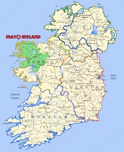 mayo-ireland-map