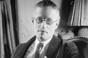 Photo of James Joyce in 1934