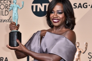 Viola Davis at the 2016 SAG Awards