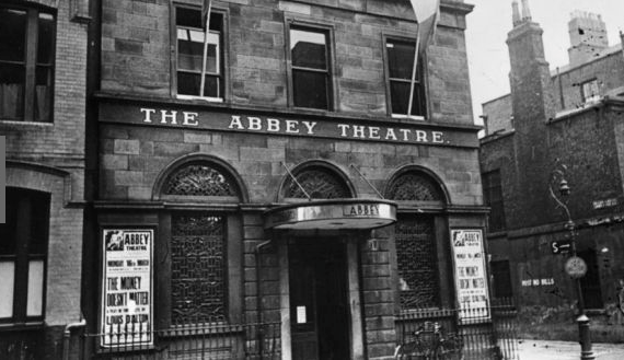 The Abbey Theatre circa 1930 (Hulton Archive/Getty Images)